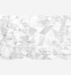 abstract texture of white crumpled paper vector image