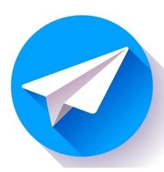 Aircraft logo icon Flat 20 design style vector image