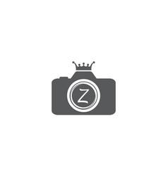 Best photography service letter z vector