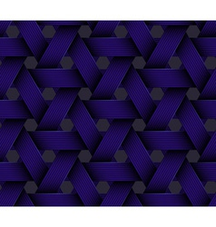 Dark Plastic Basketwork vector