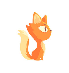 Cartoon Cat Side View Vector Images Over 140