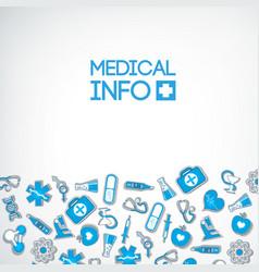 Light healthcare poster vector