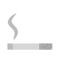 Lit cigarette vector