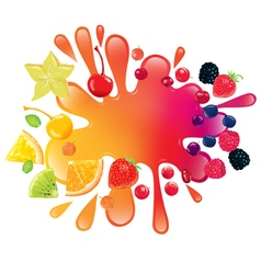 Multifruit juice vector