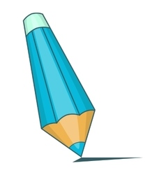 Pencil icon cartoon style vector image