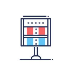 score - modern line design icon vector image