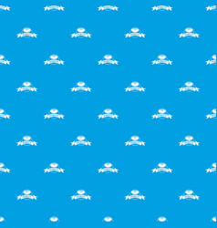 Soap purity pattern seamless blue vector