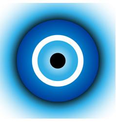 Turkish amulet talisman from evil eye vector