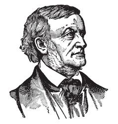 Wilhelm richard wagner vintage vector