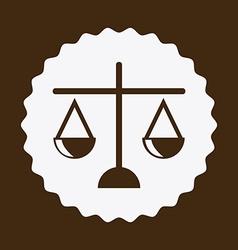 Justice design vector