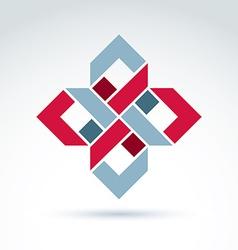 Bright complex geometric corporate element vector