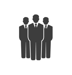 business man group icon images vector image