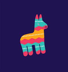 Colorful maracas icon cinco de mayo festival in vector
