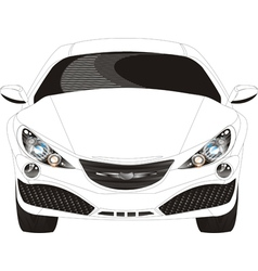 concept vehicle vector image
