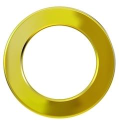 frame gold ring vector image