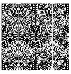 polynesian style tattoo ornament vector image