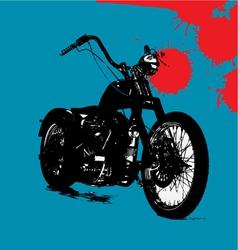 motorbike background vector image