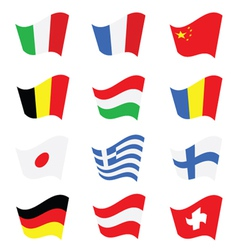 flag color vector image