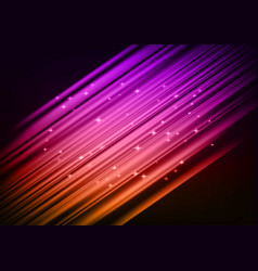 colorful light abstract background vector image