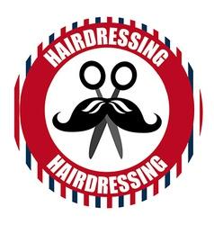 Hair dressing vector