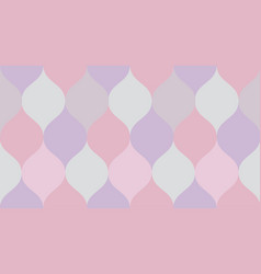 pale color geometry pattern vector image
