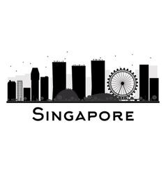 Singapore silhouette vector