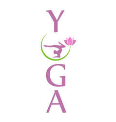 Yoga for relaxation vector