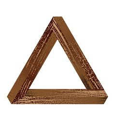 Fantastic triangle vector image vector image