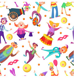 background for greeting cards seamless pattern vector image vector image