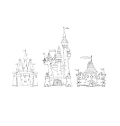 Places and Architecture vector image vector image