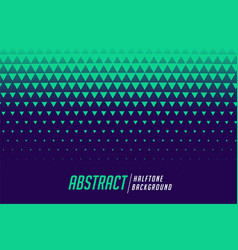 abstract triangle halftone style pattern vector image