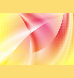 colorful abstract smooth waves background vector image