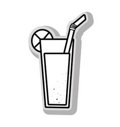 Delicious and refreshing lemonade vector image