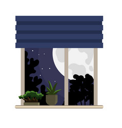 design of dreams and night icon set of vector image