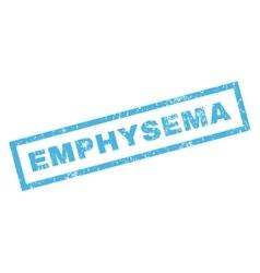 Emphysema Rubber Stamp vector