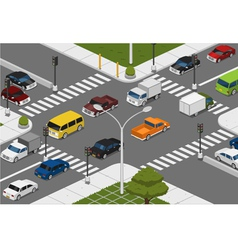 intersection vector image