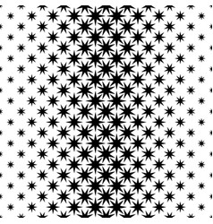 Monochrome star pattern - background graphic vector