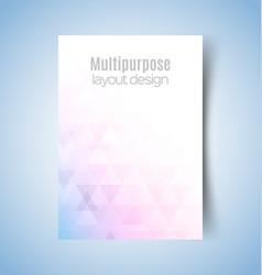 Multipurpose layout design4 vector