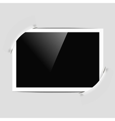 photo frame in album vector image