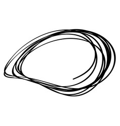 sketch doodle frames vector image