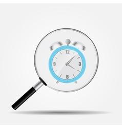 Watch Search Icon vector image vector image