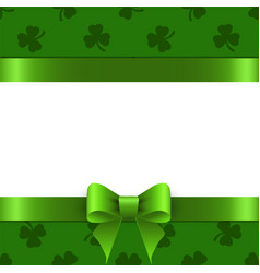 background st patrick with space for text vector image vector image