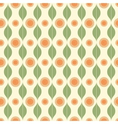 Seamless pattern with stripy ornament vector image vector image