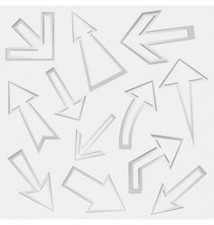 arrow8 vector image