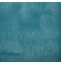 blue grunge pixels backdrop vector image