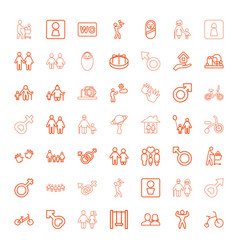boy icons vector image