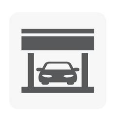 car center icon vector image