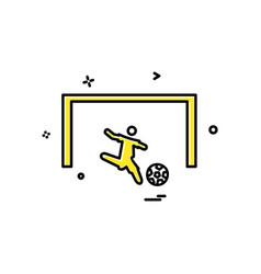 Foot ball icon design vector