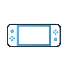 Game portable linecolor vector