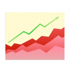success trend vector image